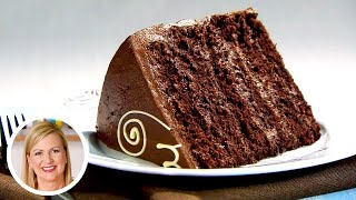 small chocolate cake recipe 8 inch round pan