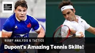 Rugby Coaching: Dupont's Amazing Tennis Skills To Execute 2 v 1