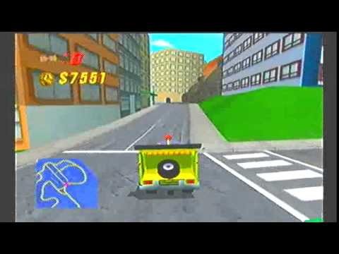 Download The Simpsons Road Rage Gamecube Gameplay Part 1
