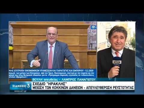 Σχέδιο «Ηρακλής»: Μείωση των κόκκινων δανείων – απελευθέρωση ρευστότητας | 05/02/2020 | ΕΡΤ