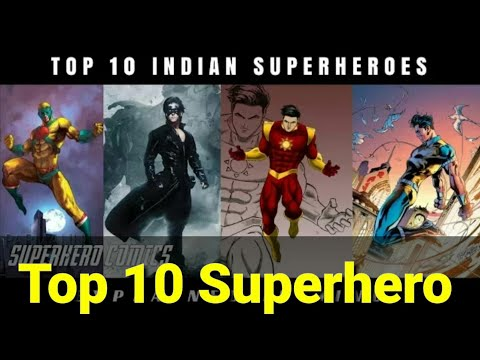Most Powerful Indian Superhero | Top 10 Indian Superheroes | Explain in hindi