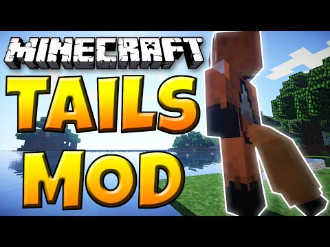 Minecraft Mod - TAILS MOD! - Tails for Your Minecraft Character!