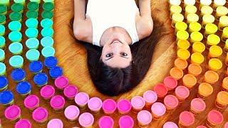 200 PLAY-DOHs, 1 SCULPTURE - PlayDoh Art Challenge // SoCraftastic x GoldieBlox