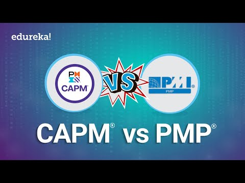CAPM vs PMP | Which Project Management Certification Is Better ...
