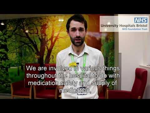 BRI pharmacist Glen Cooper