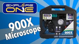 Explore One 900X Microscope Guide
