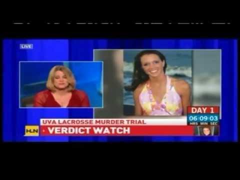 Meg Strickler on HLN discussing George Huguely verdict on 2/22/12