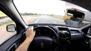 Renault Duster Diesel - выжимаем максималку по трассе