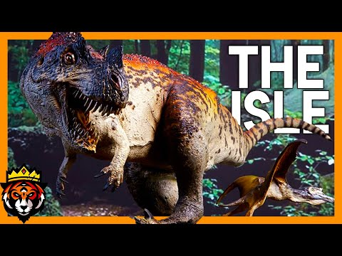 Growing a Ceratosaurus From Baby to Adult! (The Isle Gameplay) #1