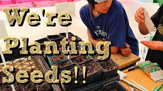 It's Time to get Planting! | Seed Starting in the Greenhouse