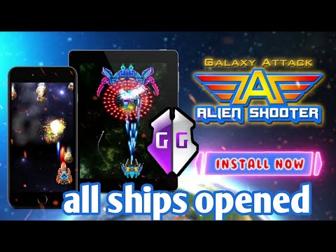 🥇 Galaxy Attack Alien Shooter Hack 2019- Free Coins and Crystals