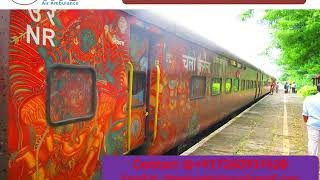 Get Best King Train Ambulance Services in Guwahati and Ranchi