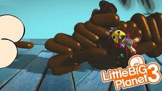 OMG BUTT LEVELS | LittleBIGPlanet 3 Gameplay (Playstation 4)