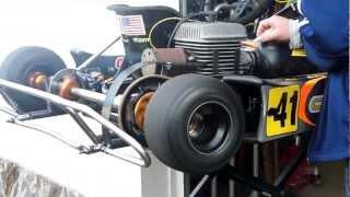 Yamaha KT100 Start Up And Idle | CRG Cadet Kart