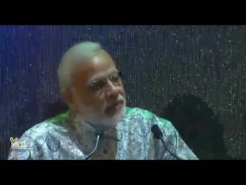 PM Modi addresses Indian Community, Johannesburg,