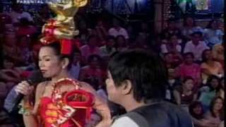 Comedy Act Of Pokwang and Chokoleit on Wowowee(1.1.09)