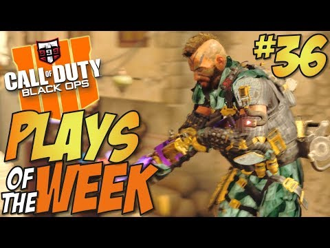 OMG!! - Call of Duty Black Ops 4 PLAYS OF THE WEEK #36