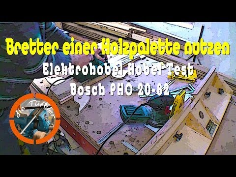 Elektrohobel Hobel Test Bosch PHO 20-82