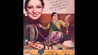 """Arman Tadapte Hain"" by Shanta Apte in Zamindar (1942"