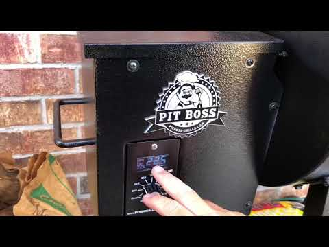 Trying Out The Pit Boss 340 Pellet Smoker!