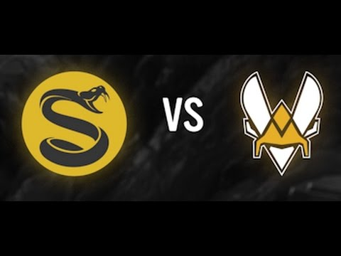 SPLYCE vs VITALITY 遊戲精華 Week 9 EULCS Spring 2017