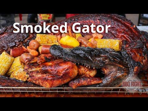 Florida: How To Make Some Smoked Gator 🤨