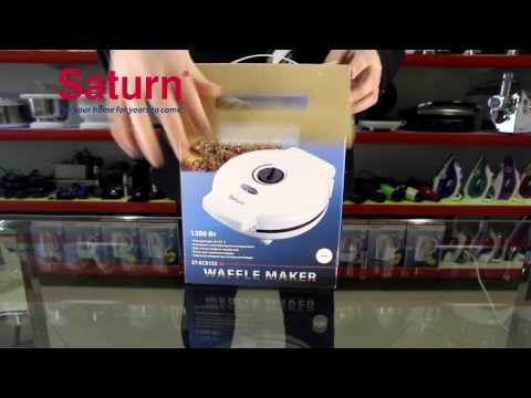 Обзор вафельницы SATURN ST-EC0153