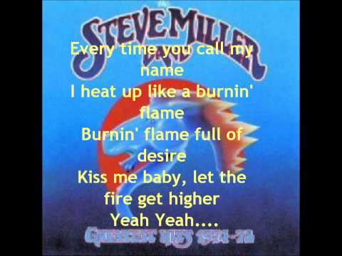 The Steve Miller Band - Abracadabra With Lyrics