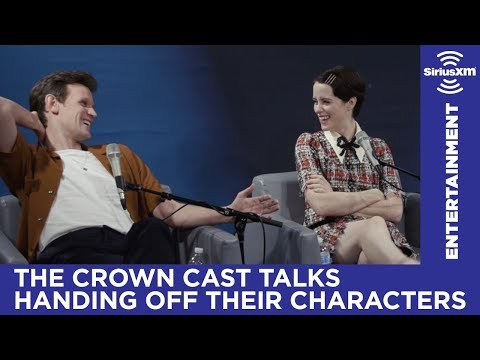 Claire Foy on Olivia Colman joining The Crown in Season 3 / Entertainment Weekly / SiriusXM