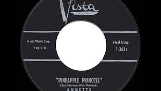 1960 HITS ARCHIVE: Pineapple Princess - Annette