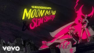 Musik-Video-Miniaturansicht zu The Adventures of Moon Man & Slim Shady Songtext von Kid Cudi & Eminem