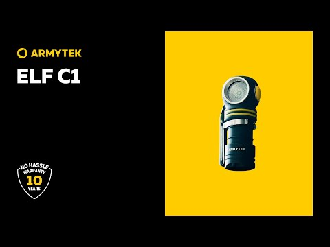 Armytek Elf C1 — compact 5 in 1 multi flashlight with Micro USB charger