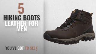 Top 10 Hiking Boots Leather [ Winter 2018 ]: Columbia Mens Newton Ridge Plus II Waterproof Hiking