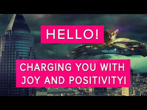 🐱Hello🐱Charging you with joy and positivity!