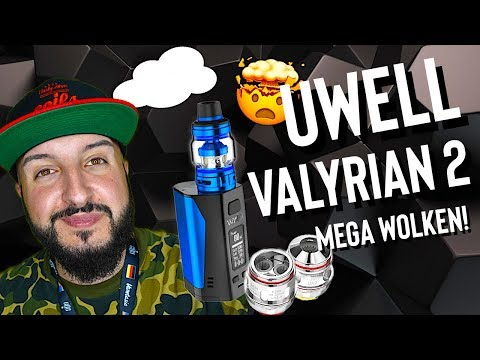 YouTube Video zu Uwell Valyrian 2 Verdampfer 6 ml