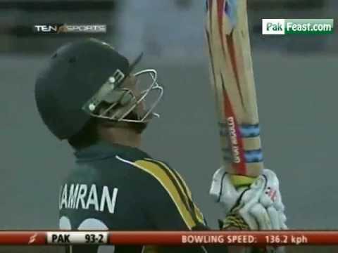 kamran Akmal's 1ist Half Century T20