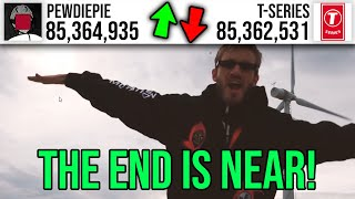 THE FINAL BATTLE: T-Series vs PewDiePie LIVE