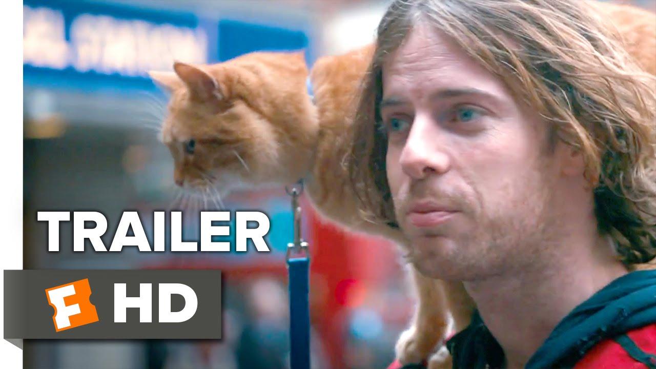 >A Street Cat Named Bob Official Trailer #1 - Joanne Froggatt, Luke Treadaway Movie HD