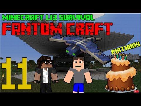 NAROZENINOVÝ SPECIÁL! Minecraft survival 1.13! #11 |FANTOM CRAFT| /wCukeMan | FullHD