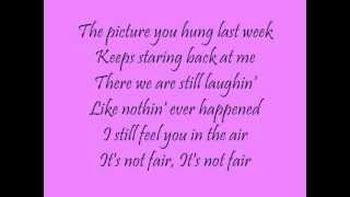 Jo Dee Messina - You Were Just Here Lyrics.