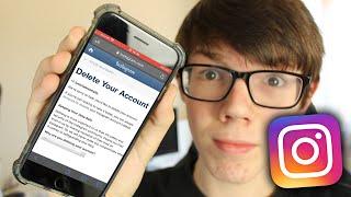 How To Delete Instagram Account 2021 (Permanently)