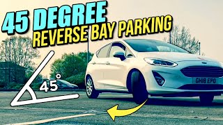 45 Degree Reverse Bay Parking - Driving Lesson!