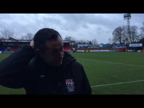 Interview: Neil Smith on the defeat at Aldershot