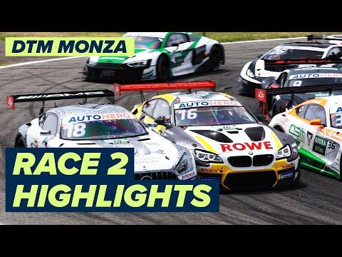 DTM モンツァ(イタリア) RACE2のハイライト動画
