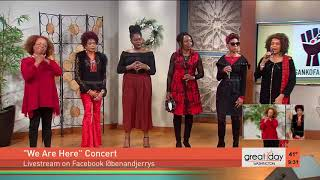 """Sweet Honey in the Rock performs """"Somebody Prayed for Me"""""""