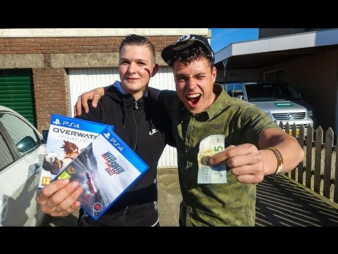 6 EURO RUILEN VOOR 2 PS4 GAMES! (VAN RUILEN KOMT HUILEN)