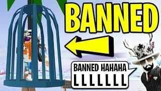 ASIMO BANNED ME in Roblox Jailbreak! | Roblox Jailbreak Winter Update