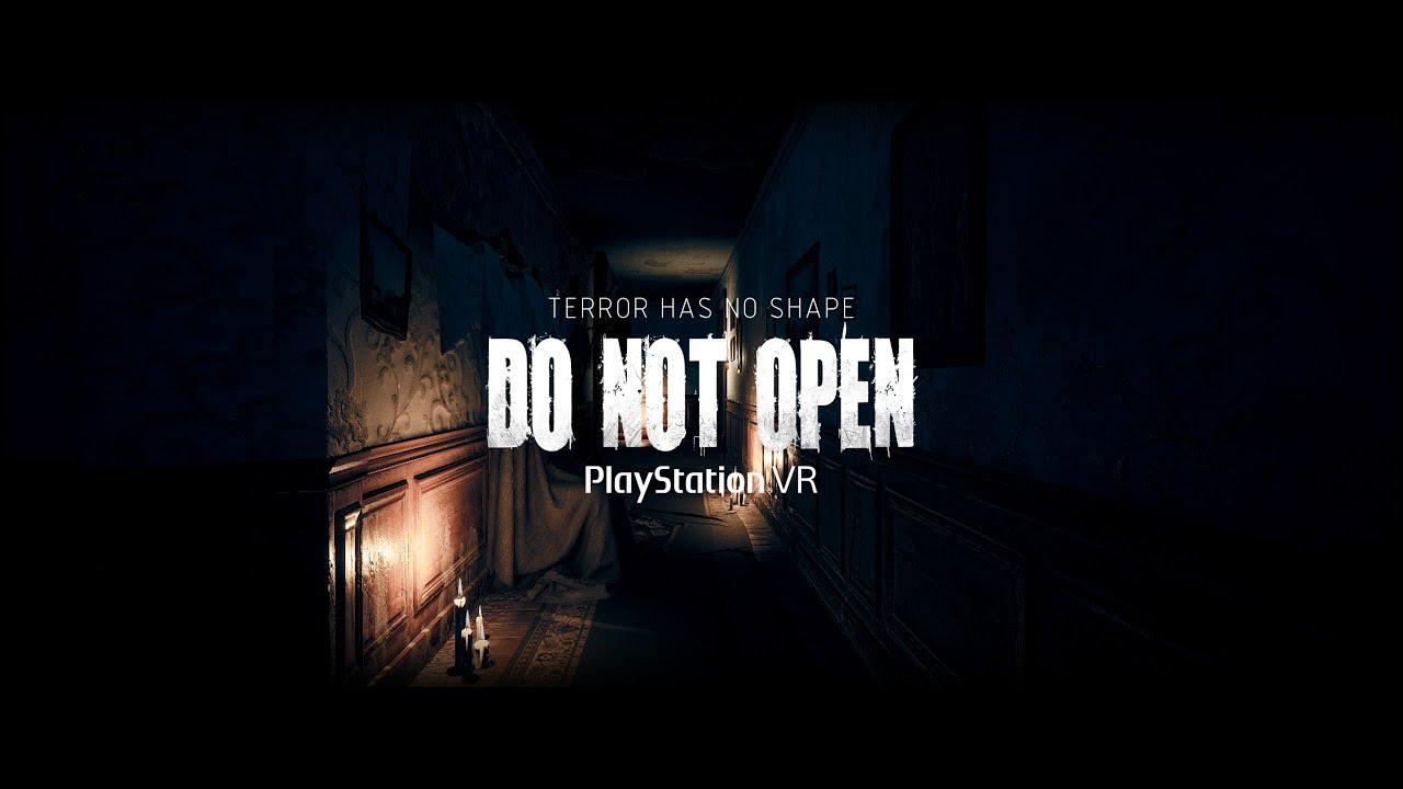 DO NOT OPEN | Un videojuego de terror y escape room para PlayStation VR