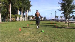Dre Baldwin: Jumprope Single Leg Jumps & Knee Highs | Basketball Dynamic Warmup Drill NBA