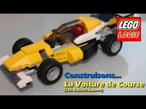 Vidéo LEGO Creator 31023 : Les bolides jaunes